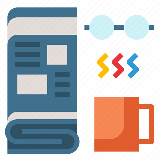 daily, media, news, newspaper, paper icon