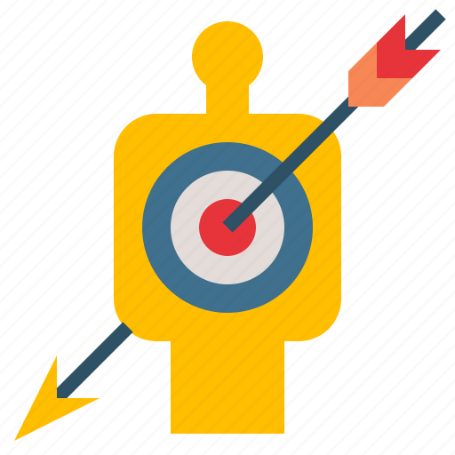 Arrow, goal, marketing, success, target icon - Download on Iconfinder