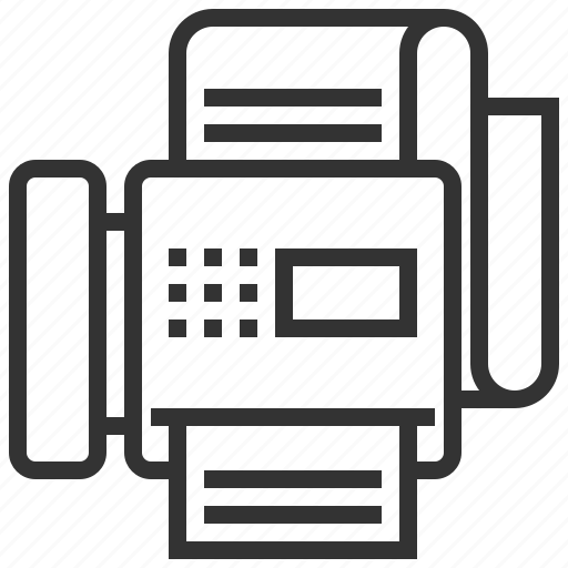 communication, connection, fax, mail, message icon