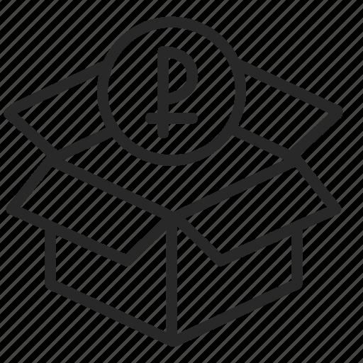 archive, bank, box, deposit, piggy bank, savings icon