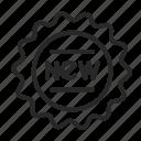 banner, label, new, ribbon, sticker