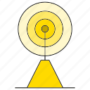 communication tower, signal icon