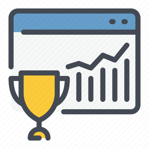best, cup, leader, marketing, online, trophy, website icon