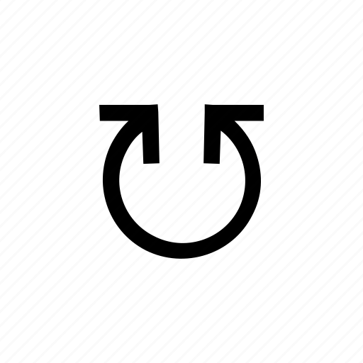 arrow, arrows, circle, round, up icon