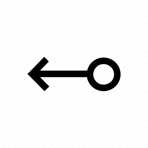 arrow, arrows, circle, connection, left icon