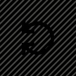 arrow, arrows, loop, refresh, reverse icon