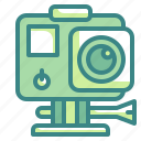 action, adventure, camera, photo, video icon