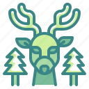 animal, deer, life, reindeer, wild icon