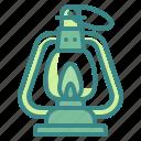 flire, kerosene, lamp, light, torch icon