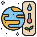 earth, global, nature, plant, resources, water icon
