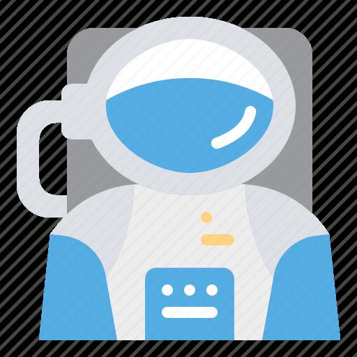 Astronaut, astronomy, cosmonaut, avatar, space icon - Download