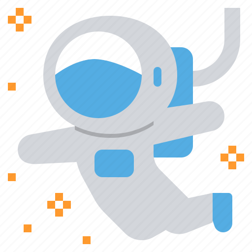 astronaut, explorer, observation, space, travel icon