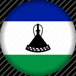 flag, lesotho icon