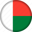 flag, madagascar icon