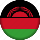 flag, malawi icon