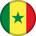 africa, senegal icon