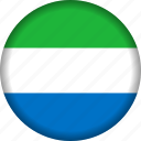 africa, sierra leone icon