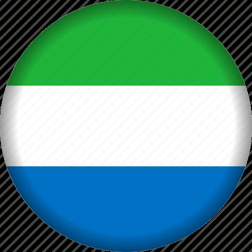 africa, sierra leone icon