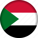 flag, sudan icon