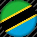 flag, tanzania icon