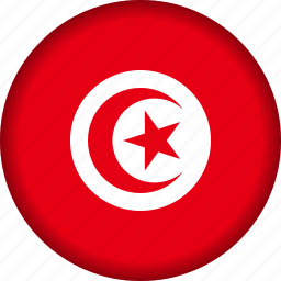 flag, tunisia icon