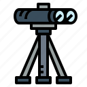 binoculars, eye, see, sight icon