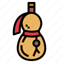 bottle, canteen, flask, water icon
