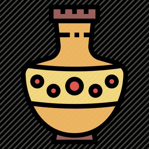 Amphora, antique, greek, pottery icon - Download on Iconfinder