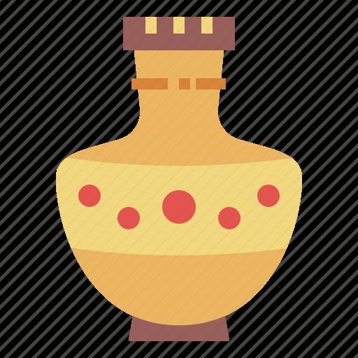 amphora, antique, greek, pottery icon