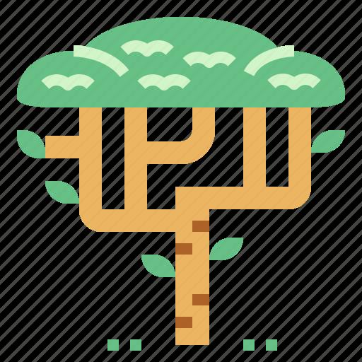 landscape, nature, tree, woods icon