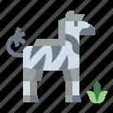 animals, mammal, wildlife, zebra icon