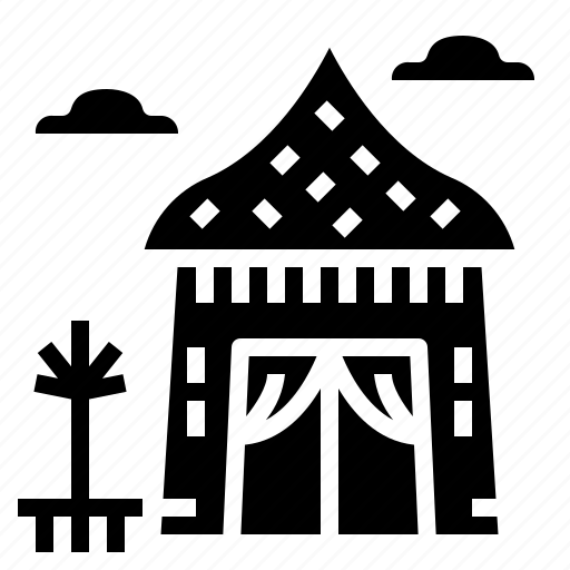cabin, house, hut, shelter icon