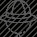 africa, hat, head, helmet, pith, safari, wear icon