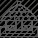 africa, african, door, home, house, hut, village icon