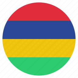 african, country, flag, mauritius, national icon