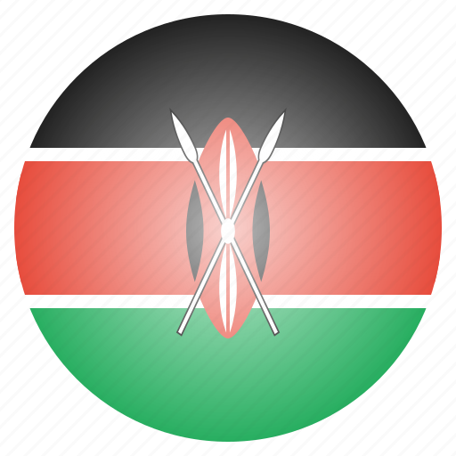 african, country, flag, kenya, kenyan, national icon