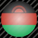 country, flag, malawi, malawian icon