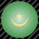 country, flag, mauritania