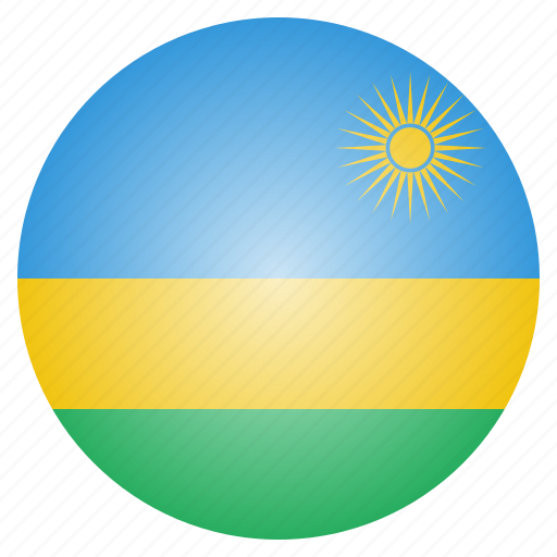 african, country, flag, national, rwanda icon