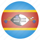 african, country, flag, national, swaziland icon