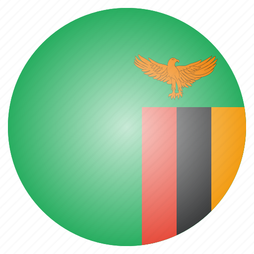 african, country, flag, national, zambia, zambian icon