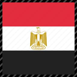country, egypt, egyptian, flag, national icon