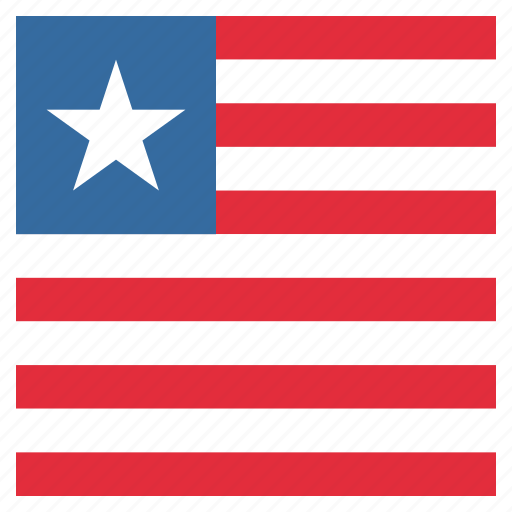 country, flag, liberia, liberian, national icon