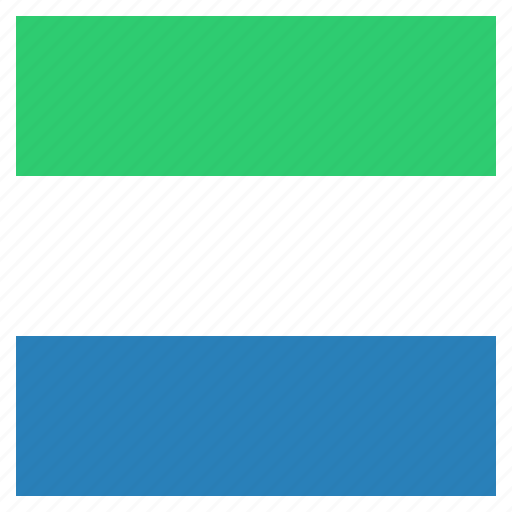country, flag, leone, national, sierra icon