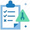 bugs, defects, errors, test case, test scenario, test step icon