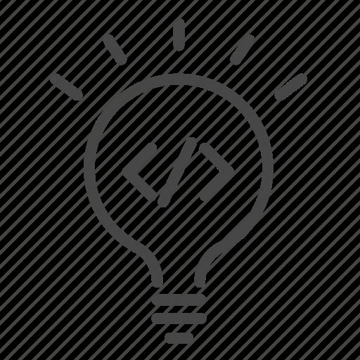 agile, code, coding, development, idea, process icon
