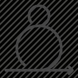 agile, iterative, methodologies, process, scrum, software icon