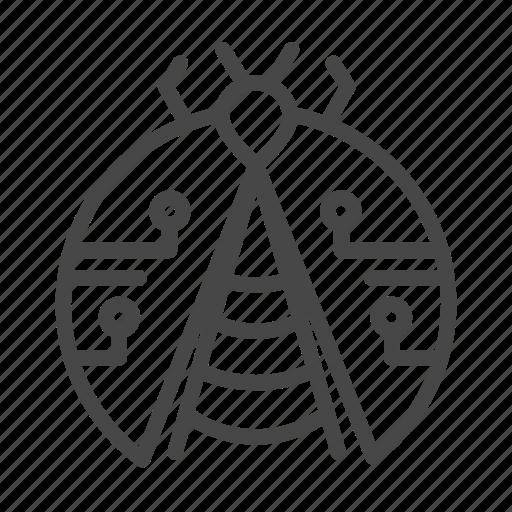 agile, bug, development, methodologies icon