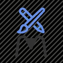 agile, artist, design, designer, graphic, ux designer, web designer icon