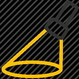 agile, area, flashlight, focus, lighting, specific, target icon
